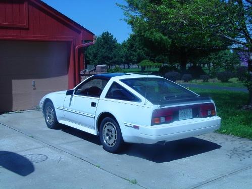 white 1986 300ZX