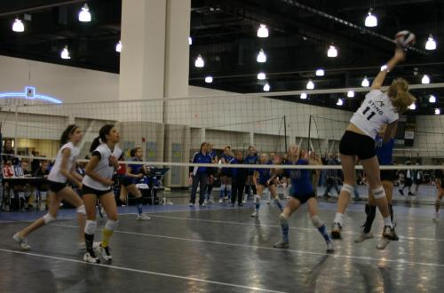 Sting Volleyball Spike
