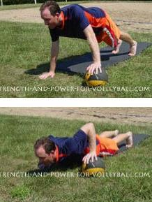 Back row attack volleyball exercises