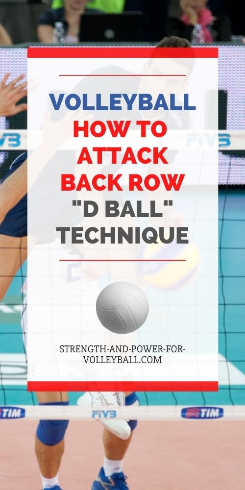 Spiking from the Back Row