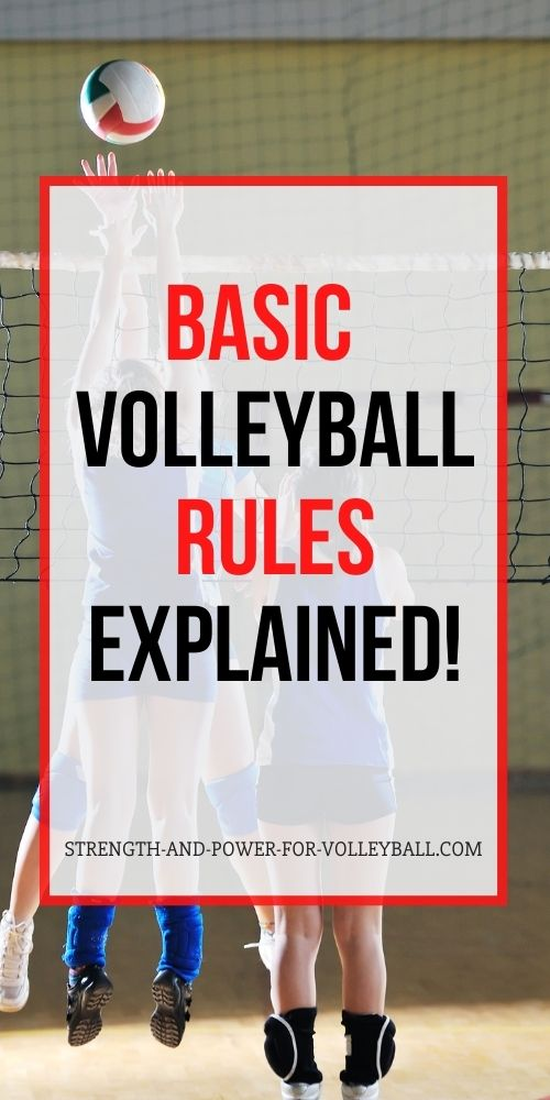 Rules of Volleyball Explained