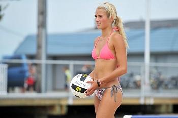 Beach Volleyball Serve