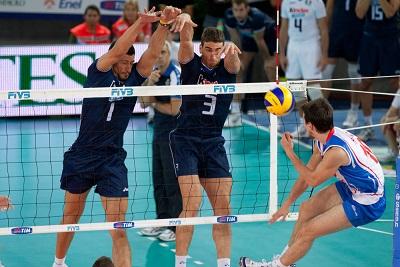 Blocking in Volleyball