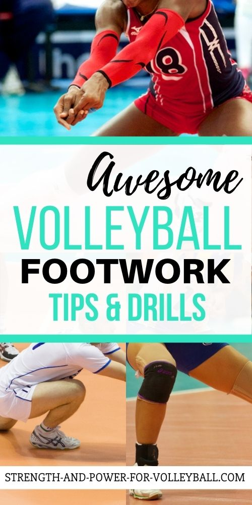 Footwork for Volleyball Players