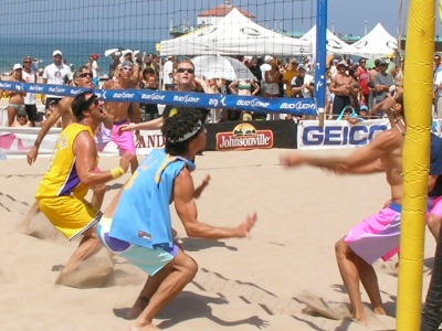 Manhattan beach 6 man volleyball tournament