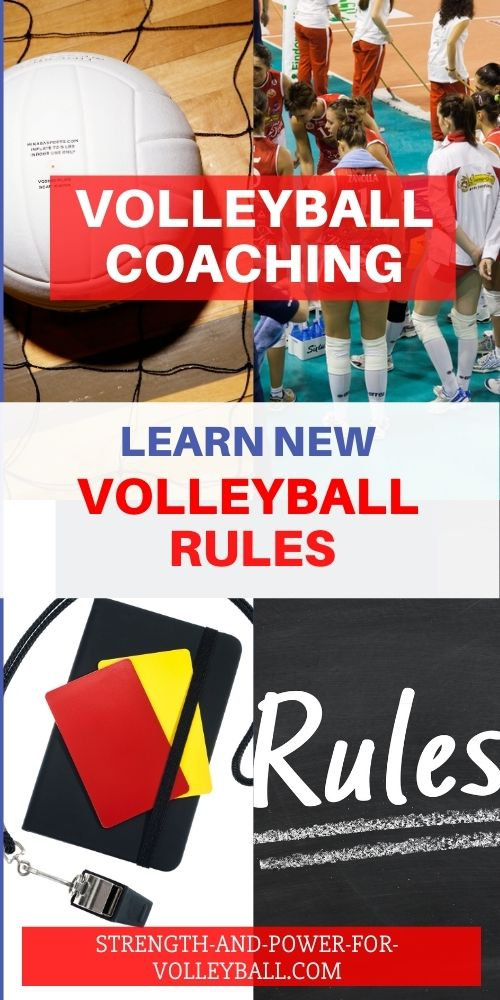 New Rules for Volleyball
