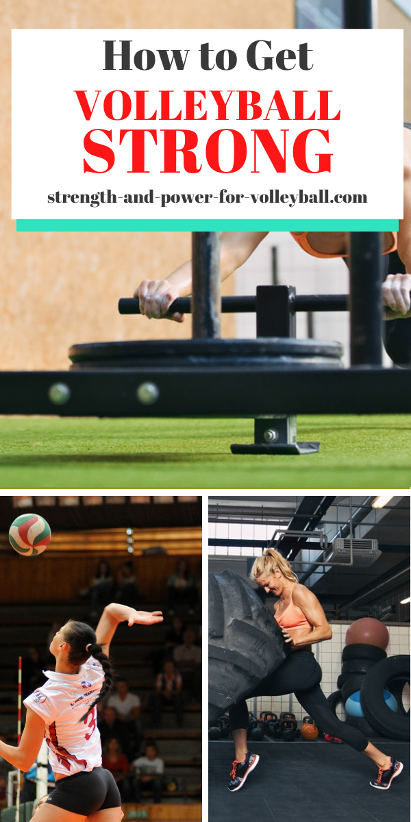 The workouts to get stronger for volleyball