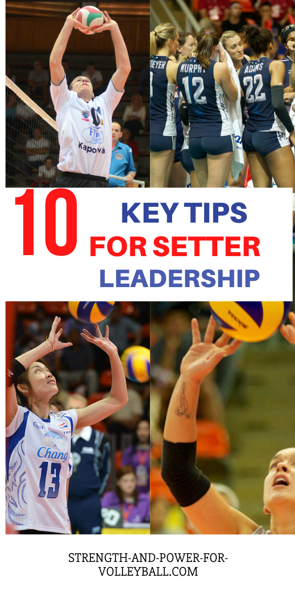 Volleyball setting tips for leadership