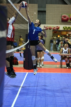 Volleyball skills defense blocking