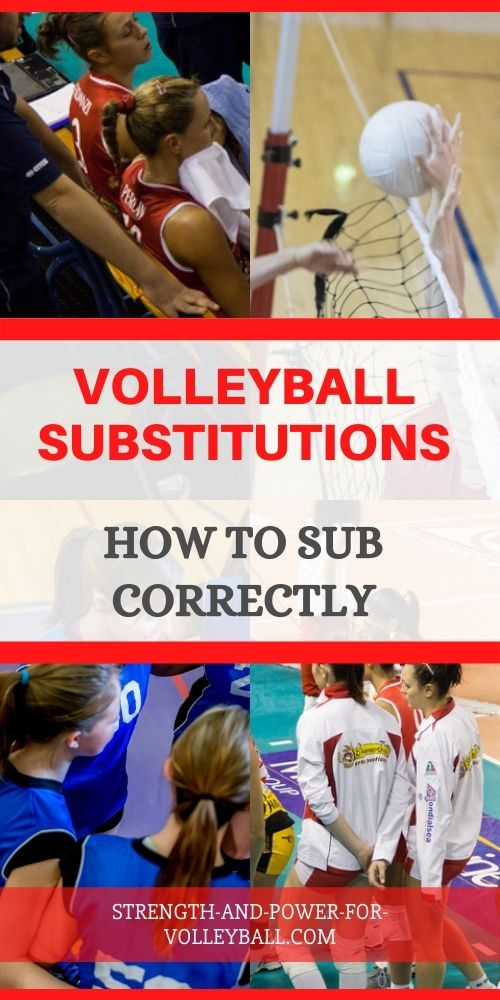 How to Substitute in Volleyball