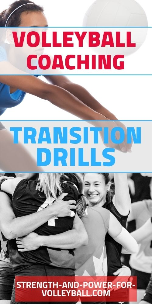 Transitioning in volleyball