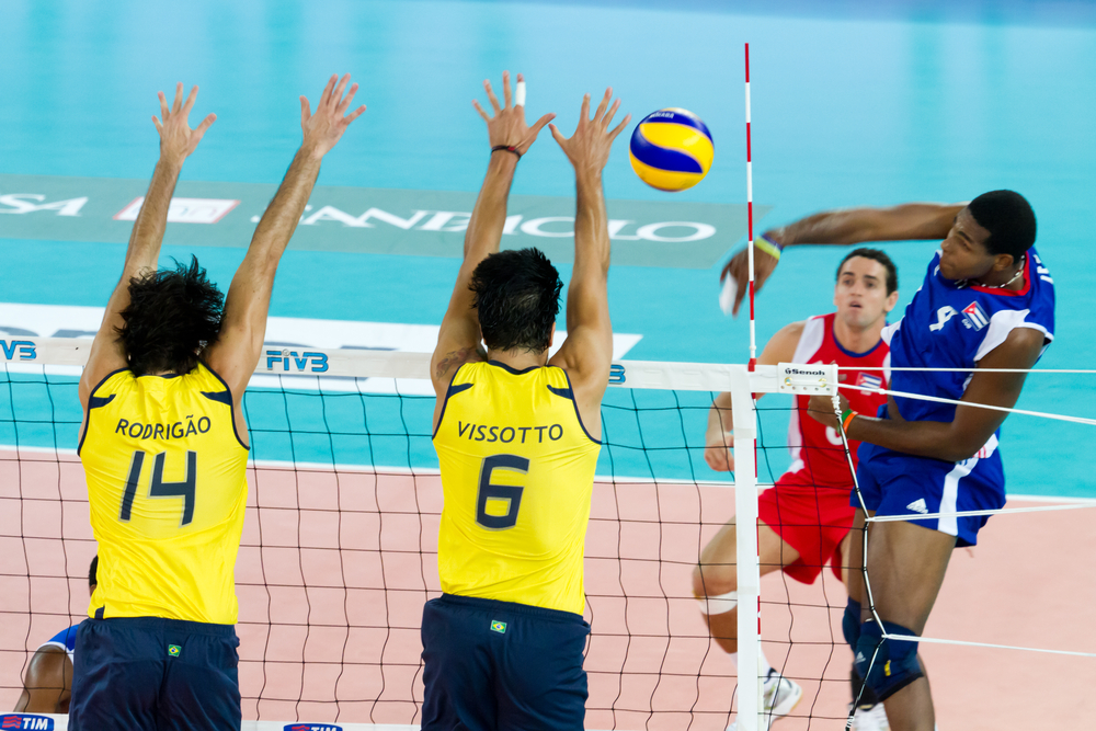 Volleyball Muscles, Genes, and Strengthening Muscle