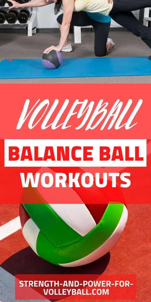 Balance Ball Training for Volleyball