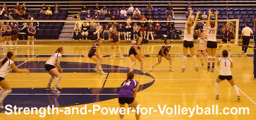 Volleyball techniques for blocking