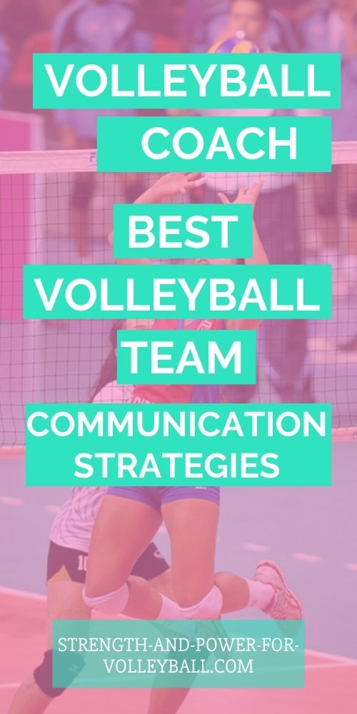 Volleyball Communication Tips