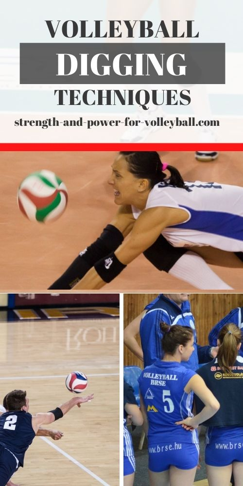 Defensive tips for volleyball