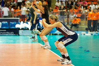 Volleyball Footwork