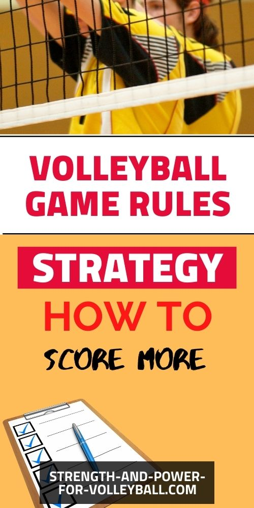 Rules for Volleyball and How to Play