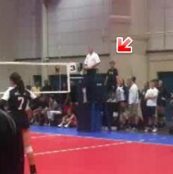 Training kids to officiate volleyball