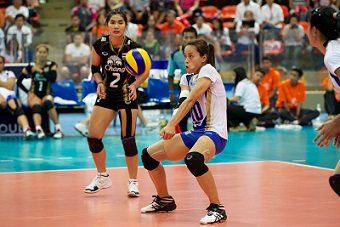 Volleyball passing