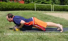 Volleyball Stability Exercises