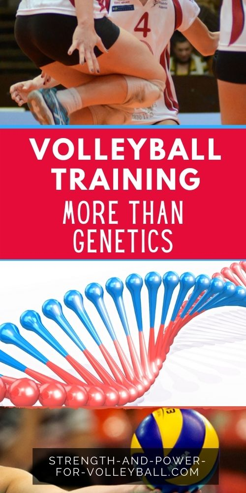 Volleyball Muscle Training