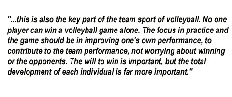 volleyball quote competition