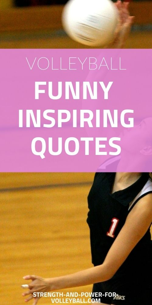 Quote for Volleyball