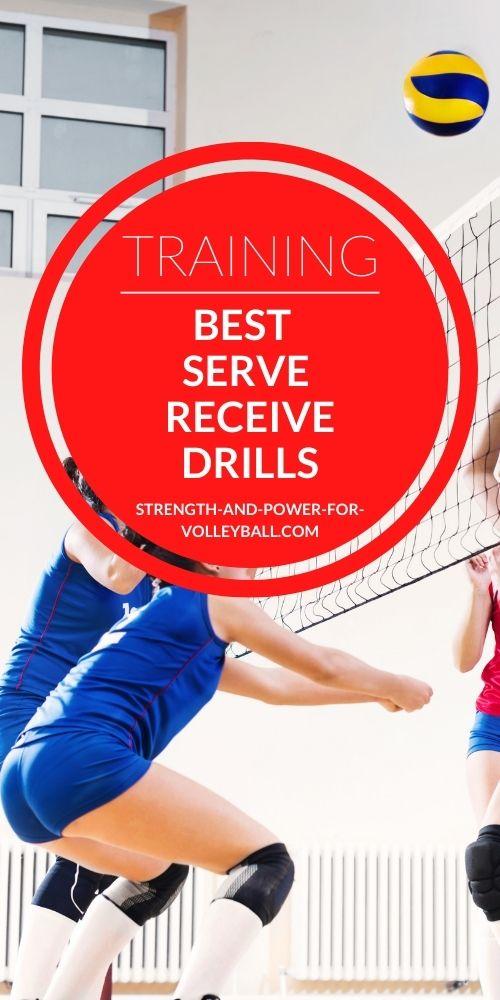 Best Serve Receive Drills