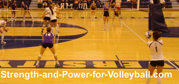 Volleyball server techniques and strategies