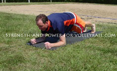 Volleyball shoulder injury prevention and strength for hitting power