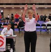 Volleyball time outs techniques for calling and signaling a time out