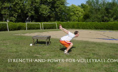 volleyball exercises - vertical jumps