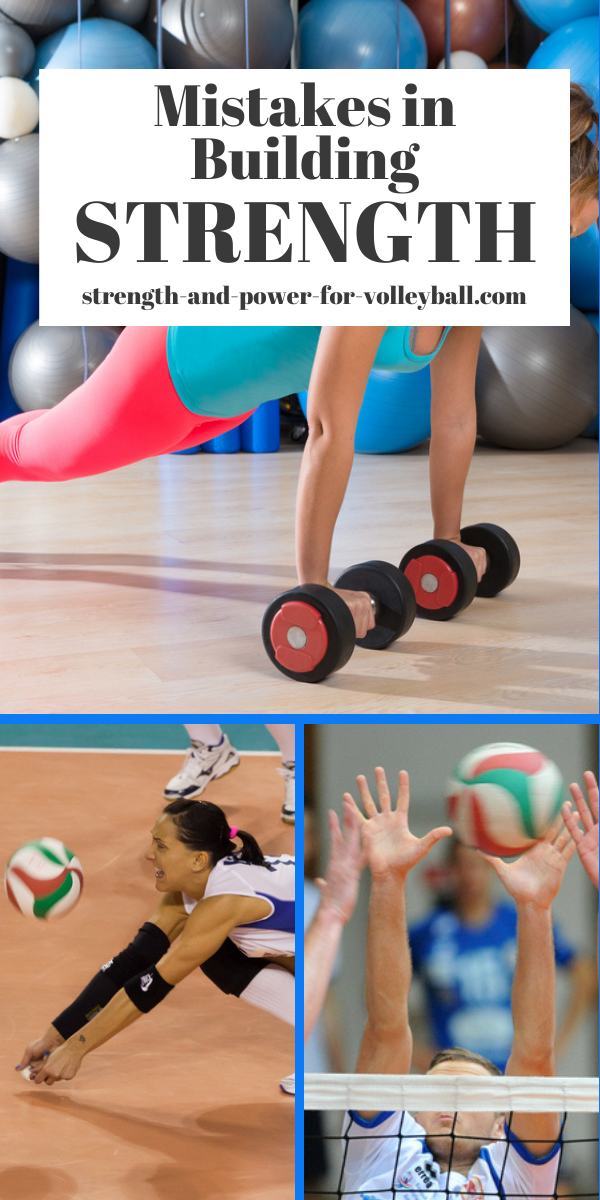 Volleyball Weight Training Myths and Common Mistakes Strength Training for Volleyball