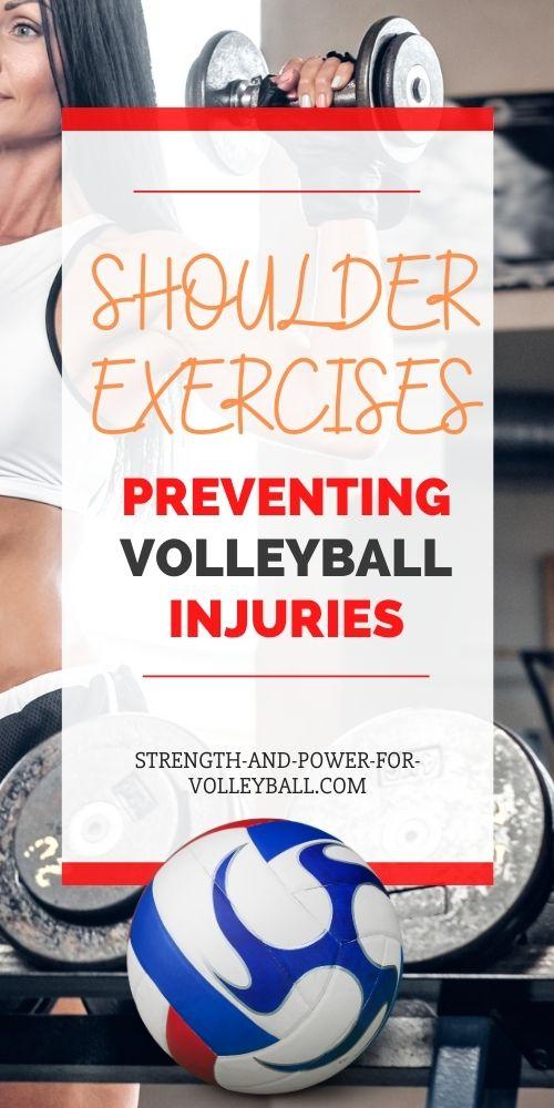 Shoulder Volleyball Training