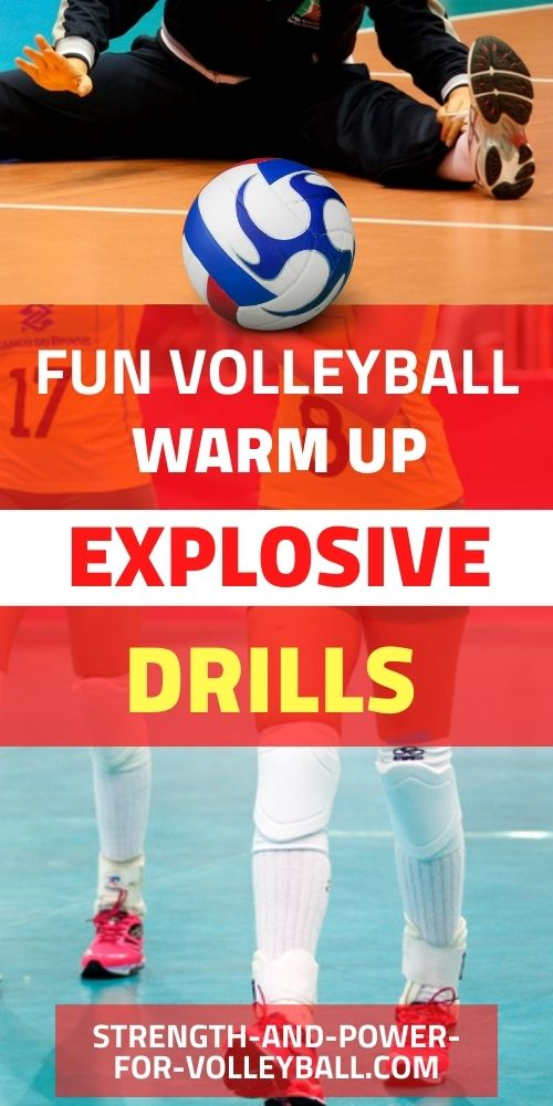 Warm Up Volleyball Exercises