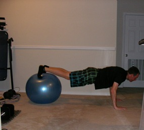 Volleyball workout program push up