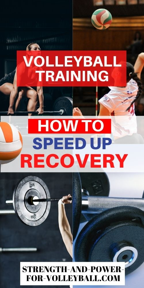 Recovery for Volleyball Training