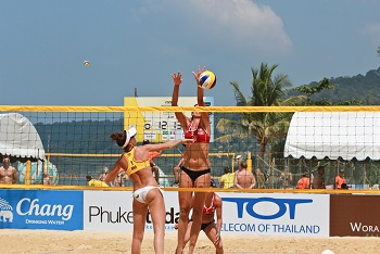 Womens Olympic Beach Volleyball