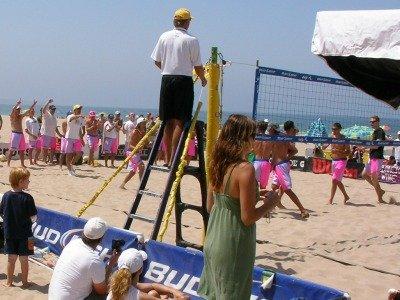 Manhattan beach 6 man volleyball tournament