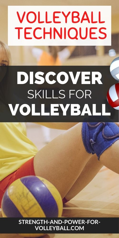 Basic skills of volleyball