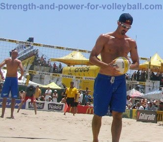 Beach volleyball todd rodgers phil
