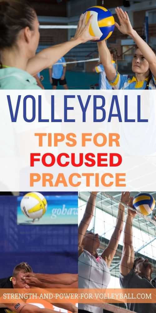 Volleyball Practice Tips
