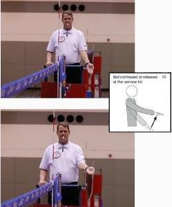 Volleyball Referee Signals