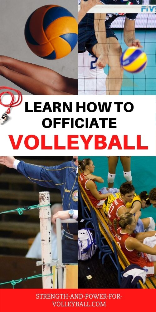 Hand Signals for Officiating Volleyball