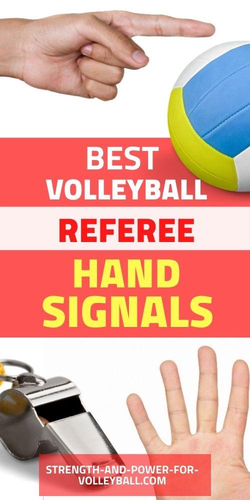 Volleyball Hand Signals