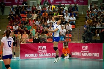 How to Serve a Volleyball
