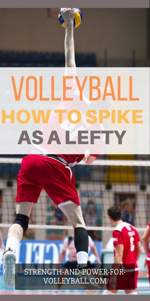 Spiking a Volleyball Left Handed