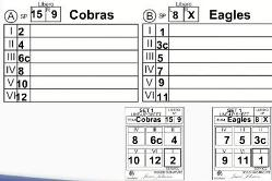 Libero tracker filling out the control sheet