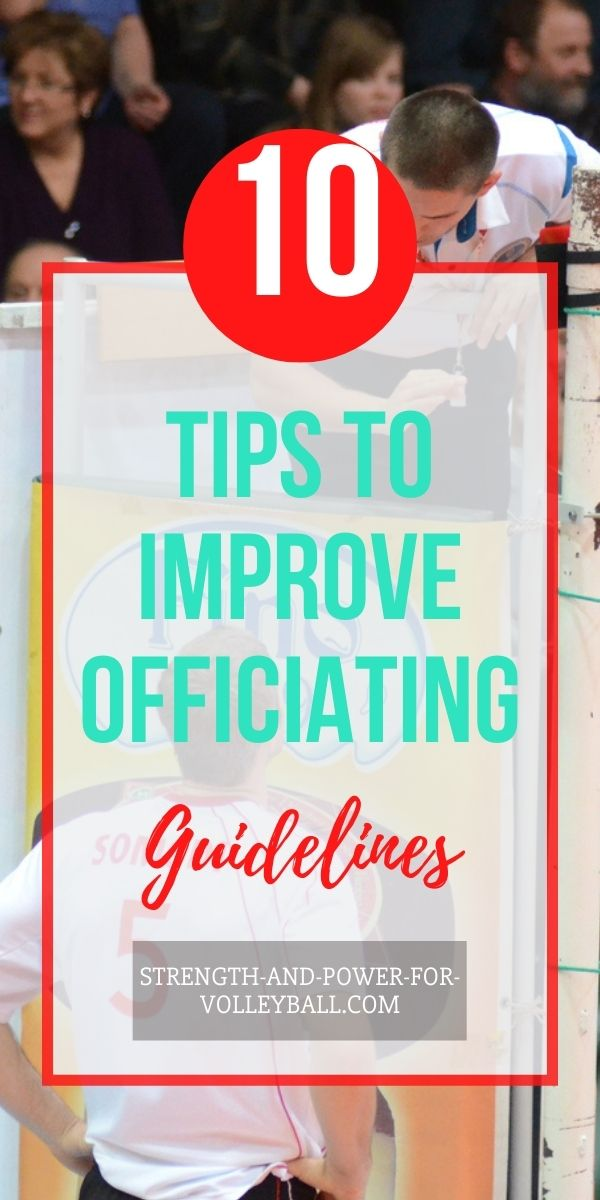 Officiating Tips